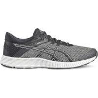 Asics Running Men's FuzeX Lyte 2 Running Shoes - Black/Silver - UK 8/US 9 - Black/Silver