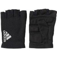 adidas Mens Hand Schuh Race Gloves - Black - M - Black