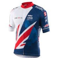 Kalas Team GB Replica Short Sleeve Jersey - XL - Blue/White/Red
