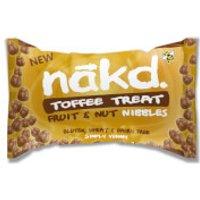 Nakd Toffee Treat Nibble Bits - 18 x 40g