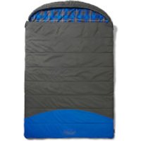 Coleman Basalt Sleeping Bag - Grey/Blue - Double