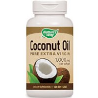 Nature's Way Coconut Oil Capsules - 120 Capsules