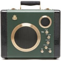 GPO Retro Manga Bluetooth Speaker and Guitar Amp - Green/Black - Manga Gifts