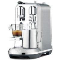 Sage BNE800BSS Nespresso Creatista Plus Coffee Machine - Stainless Steel - Nespresso Gifts