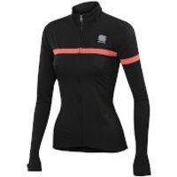 Sportful Womens Giara Jacket - Black/Pink - L - Black/Pink