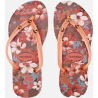 Havaianas Kids' Slim Style Flip Flops - Orange Cyber - EU 25-26/UK 8-9 Kids - Orange