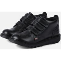 Kickers Kids' Kick 3 Strap Boots - Black - UK 9/EU 27 - Black
