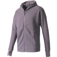 adidas Mens ZNE Hoody - Trace Grey - S - Trace Grey