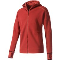 adidas Mens ZNE Hoody - Mystery Red - S - Mystery Red