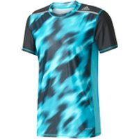 adidas Mens TechFit Climachill GFX T-Shirt - Energy Blue - XS - Energy Blue