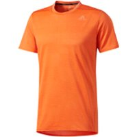 adidas Men's Supernova Running T-Shirt - Energy Orange - XL - Energy Orange
