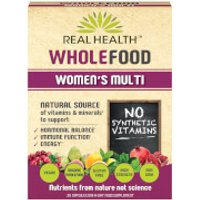 Real Health Whole Food Women's Multi - 30 Capsules