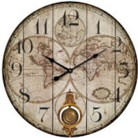 Fifty Five South Classic Global Wall Clock