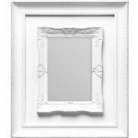 Rococo Photo Frame 5 x 7 - White
