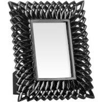 Swirl Photo Frame 4 x 6 - Black High Gloss