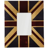 Union Jack Canvas Photo Frame 4 x 6 - Union Jack Gifts
