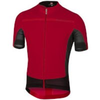 Castelli Forza Pro Jersey - Ruby Red - S - Red
