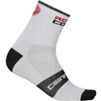Castelli Rossocorsa 6 Socks - XXL - White