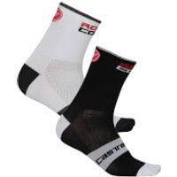 Castelli Rossocorsa 13 Socks - XXL - Dark Steel Blue