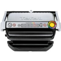 Tefal GC713D40 OptiGrill Plus Health Grill - Stainless Steel