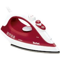 Tefal FV1251 Inicio Easy Glide Steam Iron - Red
