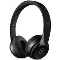 Beats by Dr. Dre Solo3 Wireless Bluetooth On-Ear Headphones - Gloss Black