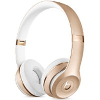 Beats by Dr. Dre Solo3 Wireless Bluetooth On-Ear Headphones - Gold - Headphones Gifts