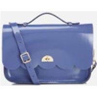 The Cambridge Satchel Company Womens Cloud Bag With Handle - Patent Dusk Blue