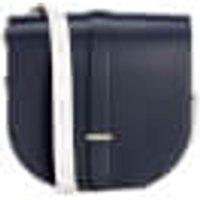 The Cambridge Satchel Company Womens Saddle Bag - Navy / Clay