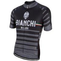 Bianchi Albatros Short Sleeve Jersey - Black - S - Black