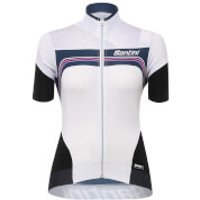 Santini Women's Queen of the Mountains Jersey - White - M - White