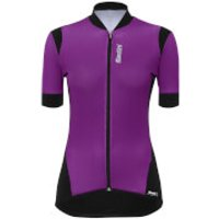 Santini Women's Wave Jersey - Violet - S - Violet