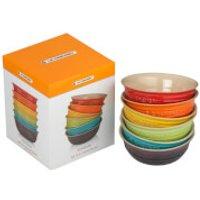 Le Creuset Stoneware Rainbow Bowls (Set of 6)