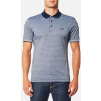 BOSS Green Mens Paddos Polo Shirt - Night Watch - XL - Blue