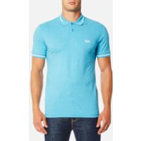 BOSS Green Mens Paul Polo Shirt - Blue - M - Blue