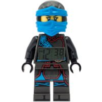 LEGO Ninjago: Time Twins Nya Minifigure Clock