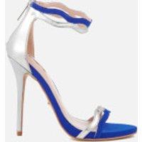 Carvela Gate Heeled Sandals - Blue
