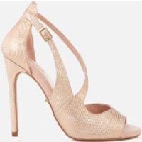 Carvela Women's Geep Metallic Heeled Sandals - Metal Comb - UK 7 - Gold