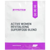 Active Women Revitalising Superfood Blend (Sample) - 25g - Vanilla & Matcha
