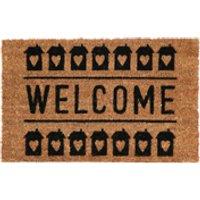 Welcome Doormat - Natural