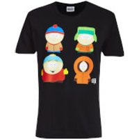 South Park Men's Character T-Shirt - Black - XXL - Black - South Park Gifts