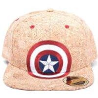 Marvel Captain America: Civil War Shield Logo Snapback Cap - Cork