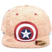 Marvel Captain America: Civil War Shield Logo Snapback Cap - Cork