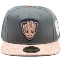Marvel Guardians of the Galaxy Vol. 2 Groot Snapback Cap - Green/Cork - Guardians Of The Galaxy Gifts