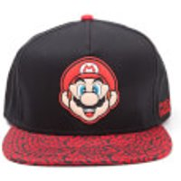 Nintendo Super Mario Mario Animal Print Cap - Black/Red - Nintendo Gifts