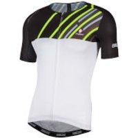 Nalini Roma Race Short Sleeve Jersey - White/Black - XL - White/Black