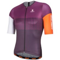 Nalini Velodromo Short Sleeve Jersey - Purple - L - Purple