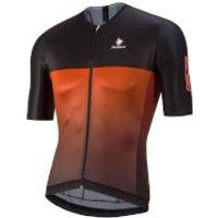 Nalini Black Ti Short Sleeve Jersey - Red/Black - L - Red/Black