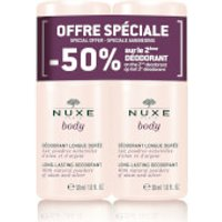 NUXE Duo Deodorant for Women (Worth 17.00)