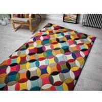 Flair Spectrum Rhumba Rug - Multi - 120X170cm